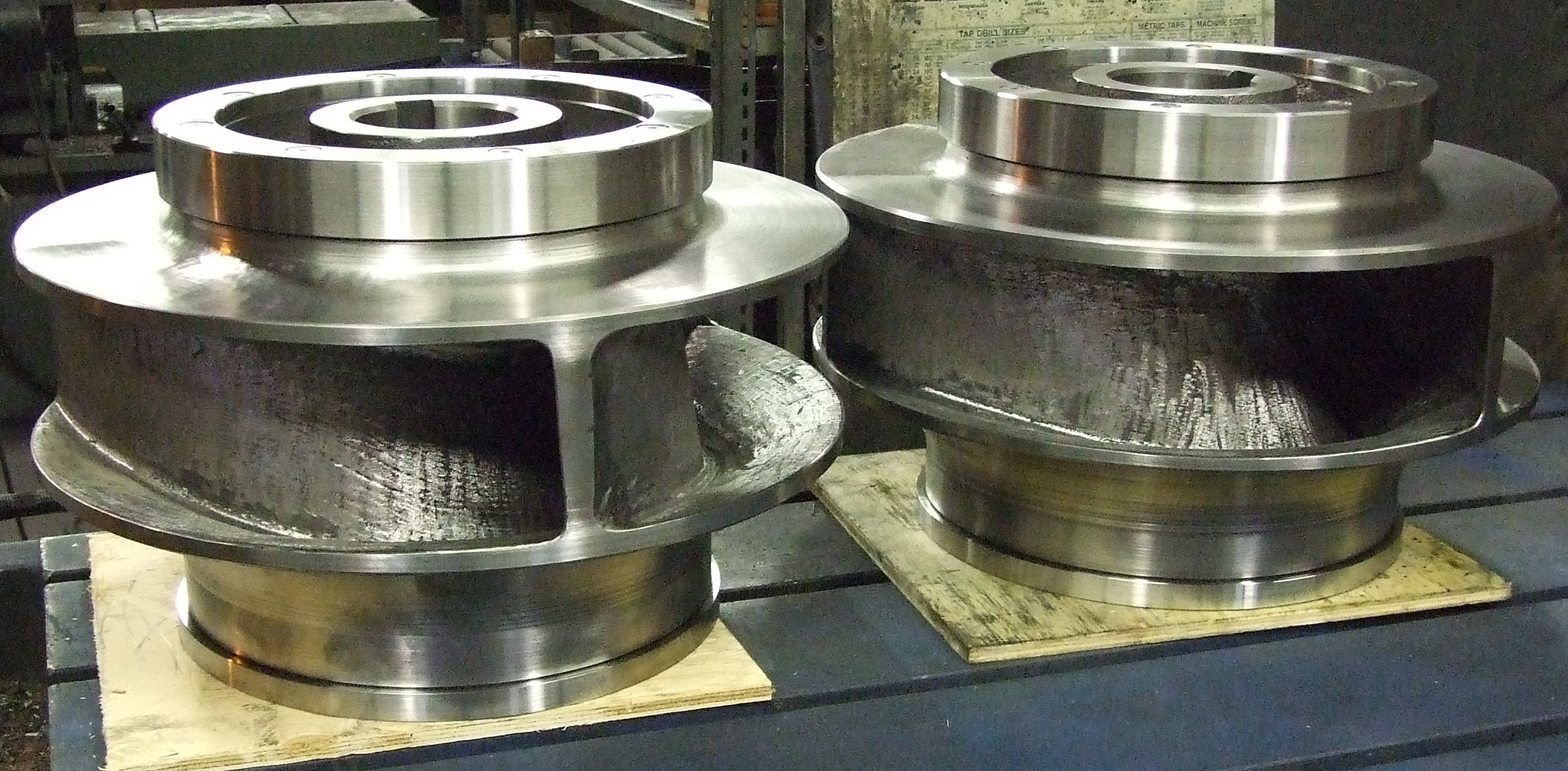 Hardened Ductile Iron Impellers