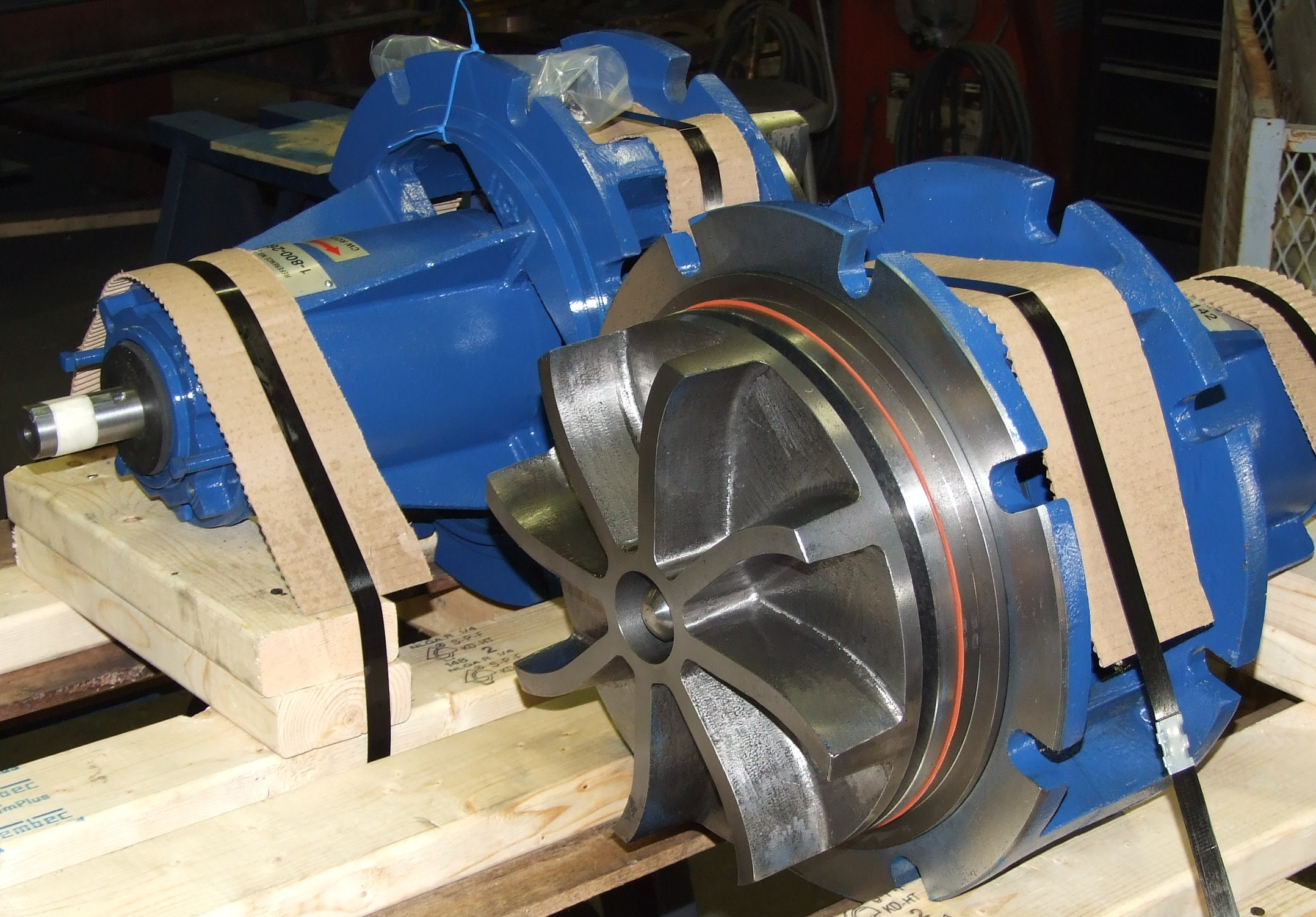 Rotating Assemblies To Replace Allis Chalmers NSR's